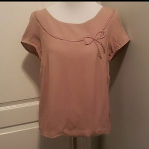 American Eagle Bow Top Size Small